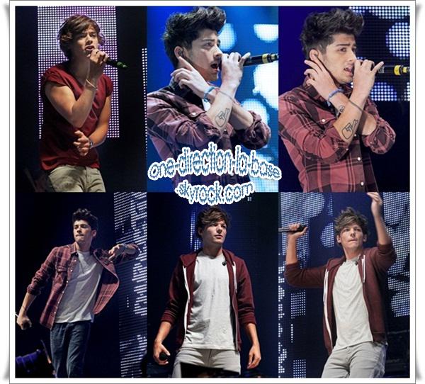 Les boys à Radio City Live