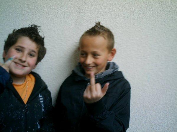 Lucas et Théo.