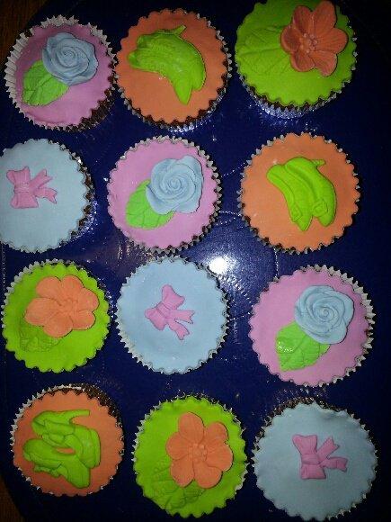 cupcakes pour mon vétérinaire et ses employés