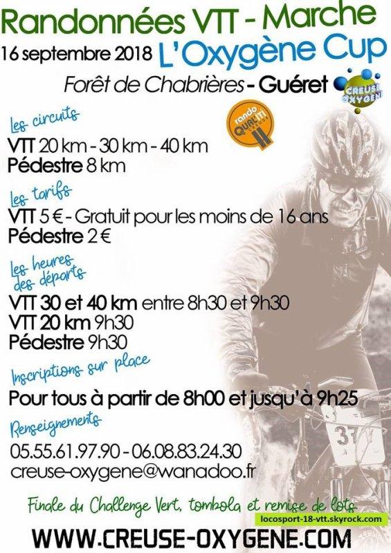Rando VTT Guéret ( 03 )