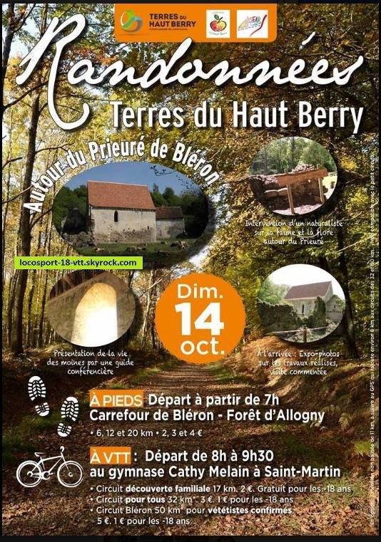 Rando VTT St Martin d'Auxigny