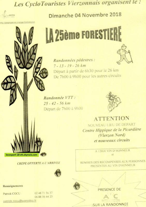 Rando VTT Vierzon La Forestière
