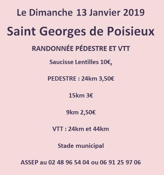 Rando VTT St Georges de Poisieux