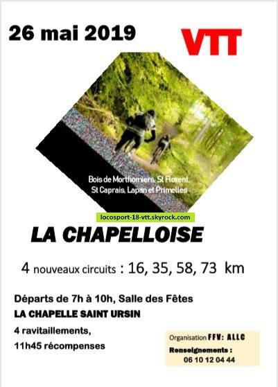 Rando VTT La Chapelle St Ursin