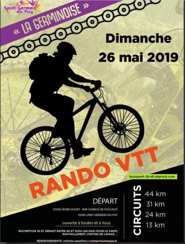 Rando VTT St Germain du Puy