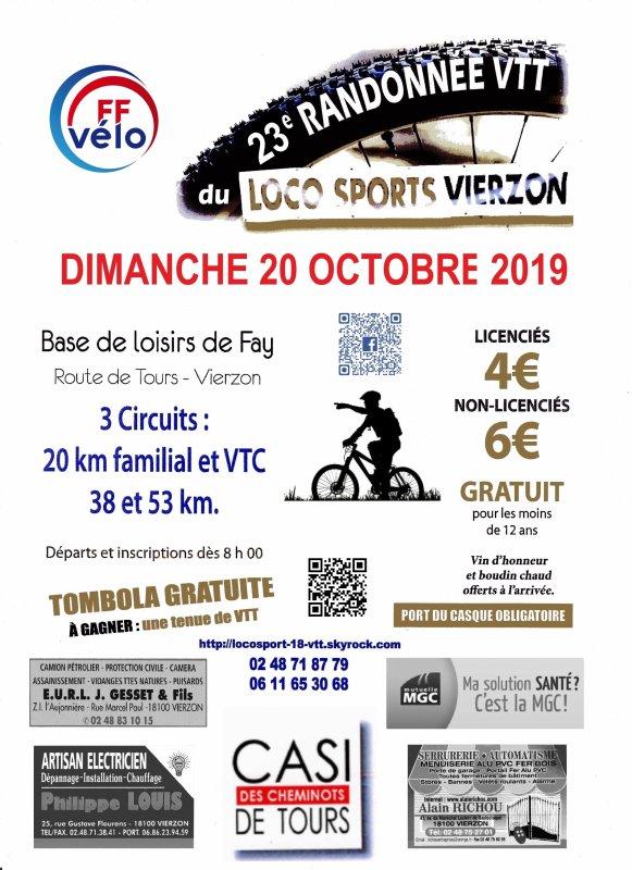 Rando Loco sport Vierzon