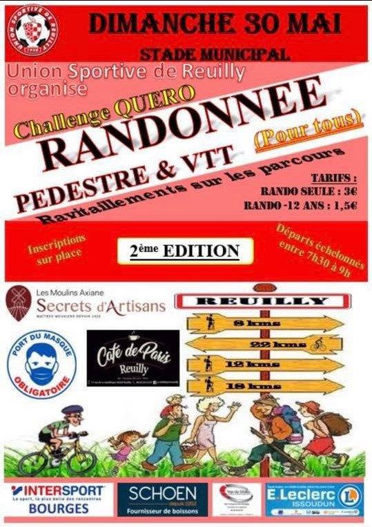 Rando VTT Reuilly