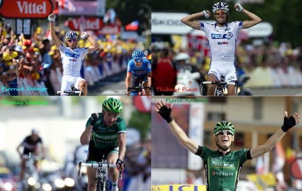 4ème victoire Française sur le Tour de France