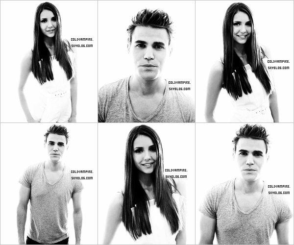 Découvrez des portraits de Nina et Paul au Comic Con.