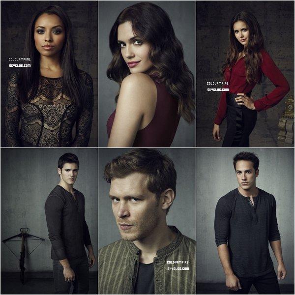 Le shoot promotionnel de la saison 4 a été réalisé, en voici quelques images.