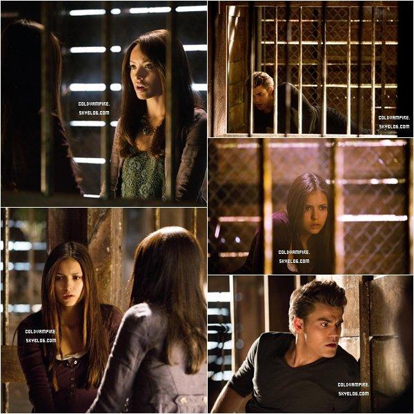 Découvrez les stills de l'épisode 4x01 avec Elena, Bonnie et Stefan.