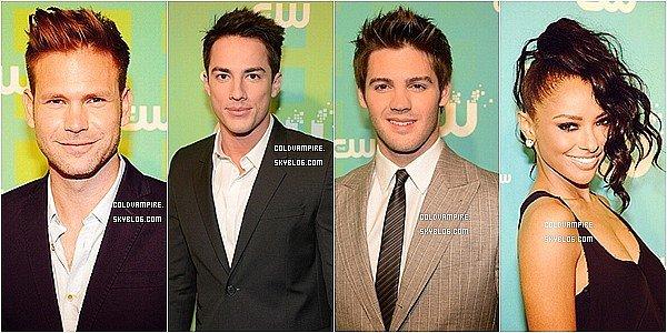 Le cast de TVD s'est rendu aux CW Upfronts 2012 !