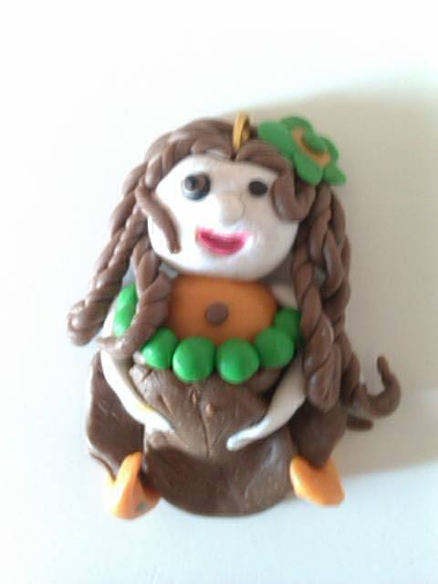 personnage fimo pendentil n°1