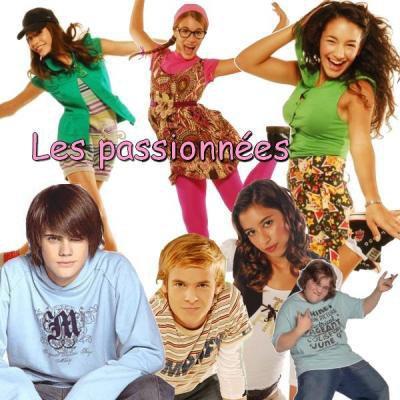 le groupe des passionnées