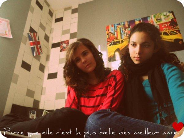 Ma meilleur amie.♥