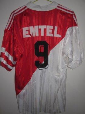 maillot monaco 1995 - 1996
