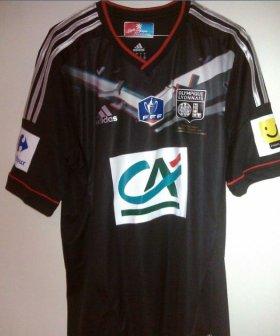 maillot Lyon 2011 - 2012 finale coupe de France