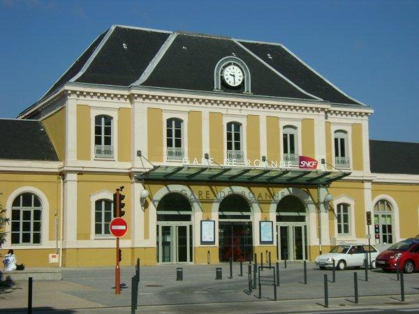 La gare de Roanne