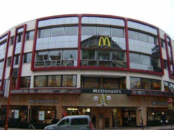 Le McDonald's de Roanne