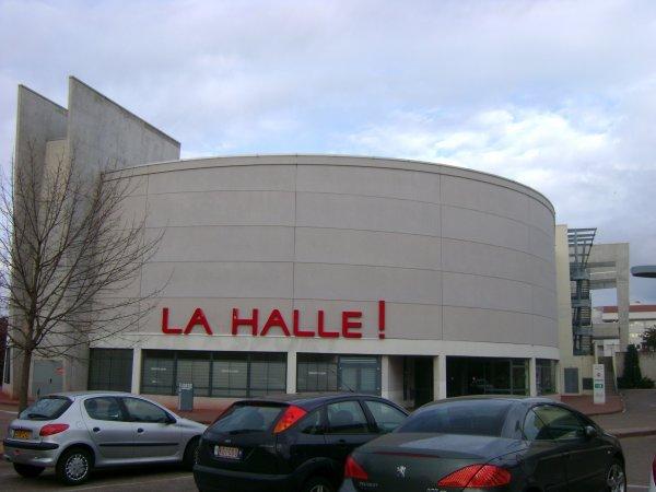 Le magasin La Halle