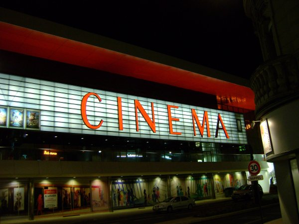 Un bout du grand Cinema de nuit