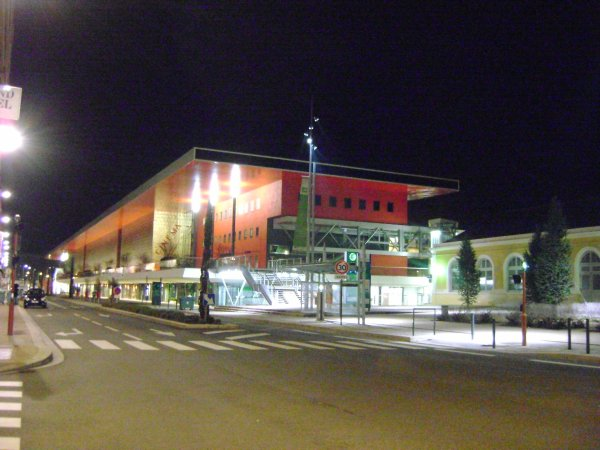 Le Grand Palais de nuit
