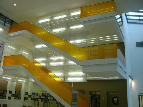 L'intérieur du centre hospitalier