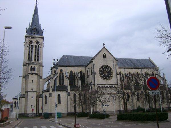L'église Notre-Dame des victoires