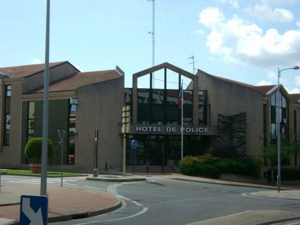 L'hôtel de police de Roanne