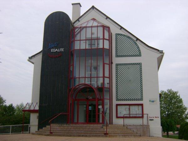 L'hôtel de ville de Riorges