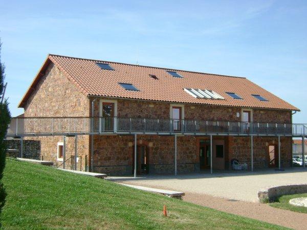La nouvelle bibliothèque de Commelle-Vernay