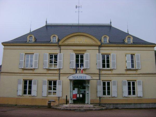 L'hôtel de ville de Mably
