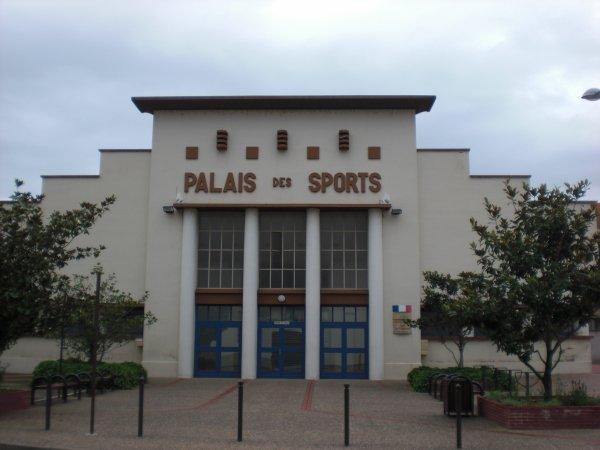 Le palais des sports Henri Rhodamel (créateur de la Chorale de Roanne en 1937)
