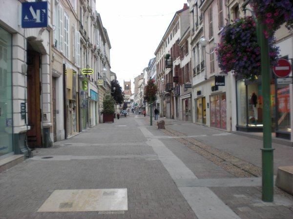 Les rues piétonnes
