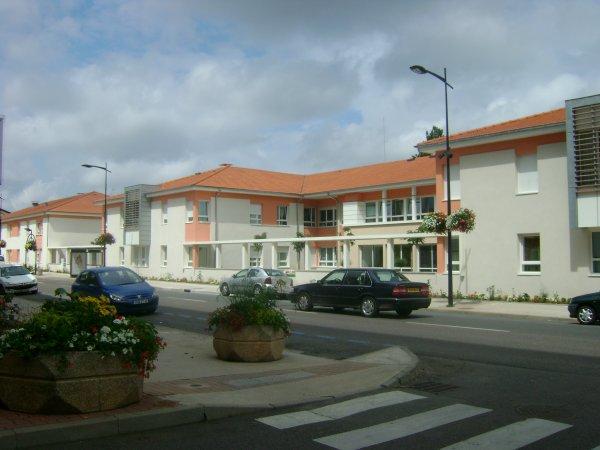 Les nouveaux bâtiments de la maison de retraite de la Providence