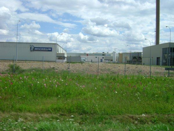 L'usine Michelin