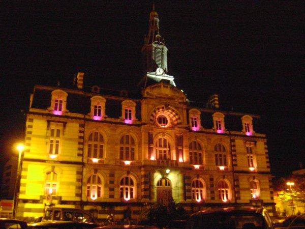 L'hôtel de ville de Roanne