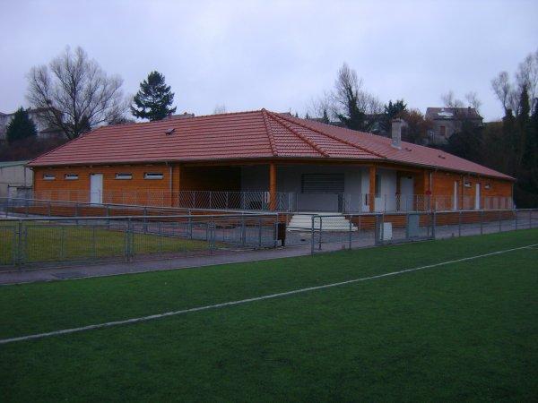 Les nouveaux vestiaires du stade Malleval
