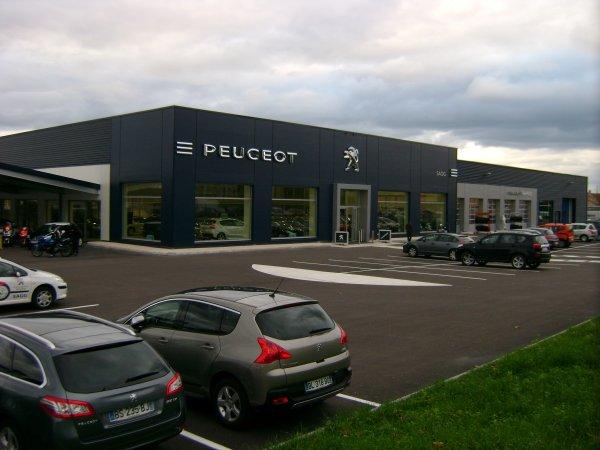 La nouvelle concession SAGG Peugeot