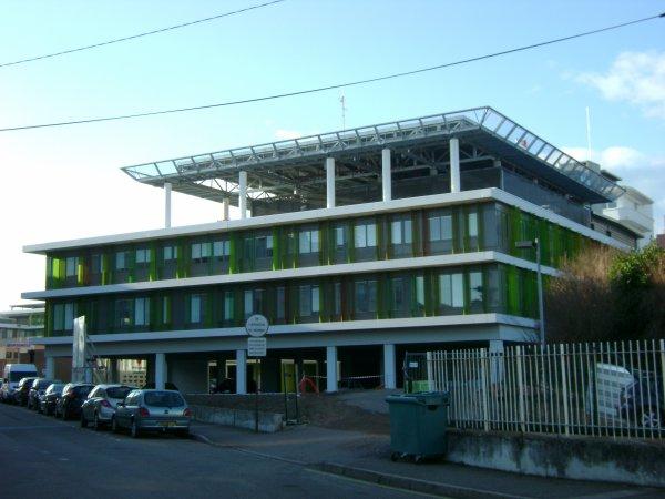 Les nouveaux locaux de l'hôpital de Roanne