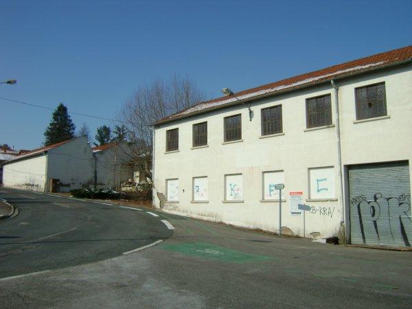 Ancienne usine à Riorges