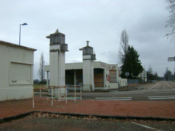 L'entrée N° 9 de l'arsenal de Roanne