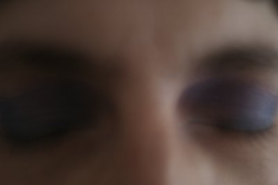 Make-Up violet-bleu