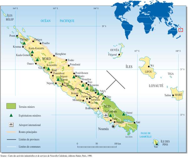 Nouméa est la capitale de la Nouvelle-Calédonie