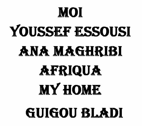 ................. i love morocco ..................
