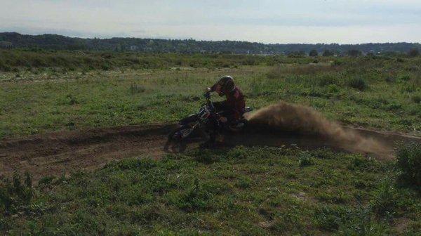 Moi en motocross