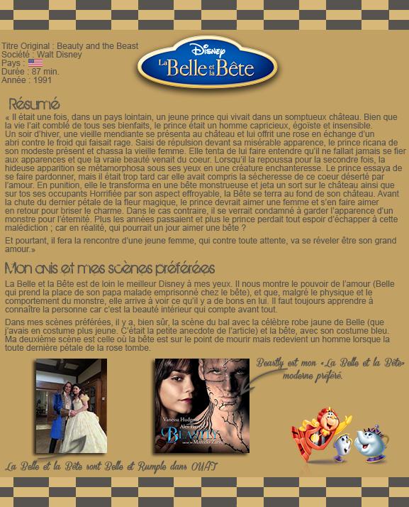 • OhOnce-Upon-A-Time »   La Belle et la Bête Conte