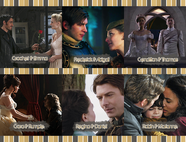• OhOnce-Upon-A-Time »   Les Couples de Once Upon a Time Vs