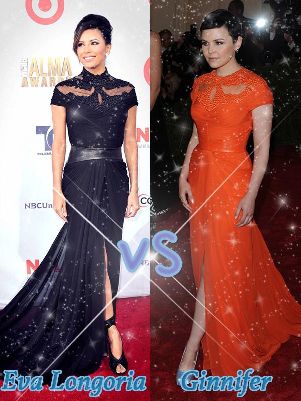 • OhOnce-Upon-A-Time »   Qui porte-le mieux cette tenue ?  VS