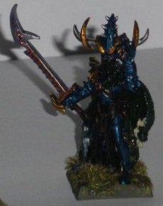 Armé Personnage: Malékith, Le Roi Sorcier de Naggaroth (Conversion)